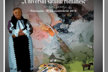"""Tabăra de pictură de şevalet, cu tema """"Universul satului românesc 2019"""
