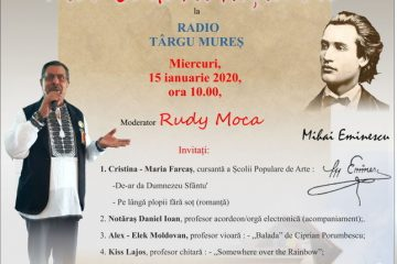 Ziua culturii naționale la radio Târgu Mureș