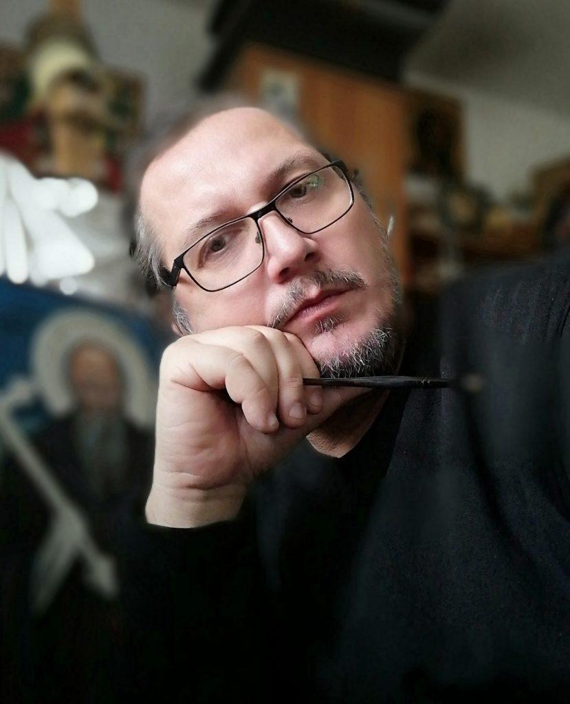 Calin Bogatean profesor pictură și iconografie