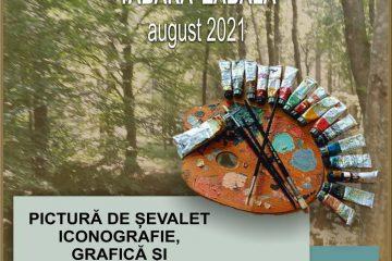 abăra de pictură artă și creație Zăbala– Covasna, 31 august - 5 septembrie 2021